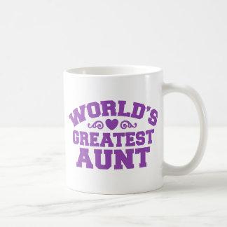 World's Greatest Aunt Classic White Coffee Mug