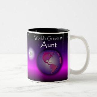 World's Greatest Aunt Pink Gift Mug