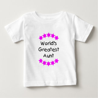 World's Greatest Aunt (pink) Shirts