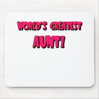 WORLDS GREATEST AUNT.png Mouse Pad
