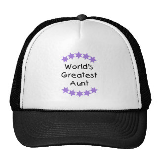World's Greatest Aunt (purple) Trucker Hat