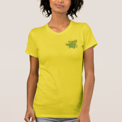 Women's American Apparel Fine Jersey Short Sleeve T-Shirt with World's Greatest Aunt design