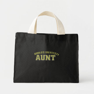 World's Greatest Aunt! Tote Bag