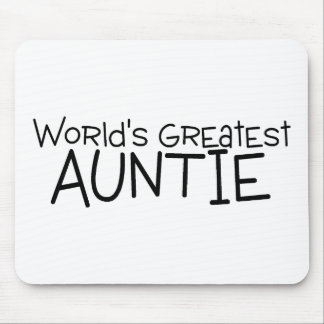 Worlds Greatest Auntie Mouse Pad