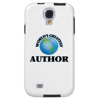 World's Greatest Author Galaxy S4 Case