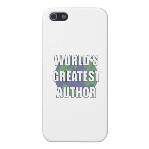 WOrld's Greatest Author Cover For iPhone 5