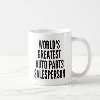 Worlds Greatest Auto Parts Salesperson Coffee Mug