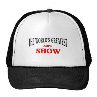 World's greatest auto show trucker hat