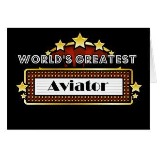 World's Greatest Aviator Card