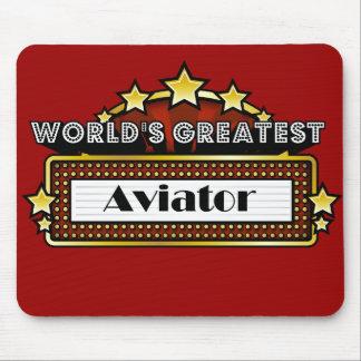 World's Greatest Aviator Mousepads