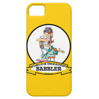 WORLDS GREATEST BABBLER WOMEN CARTOON iPhone SE/5/5s CASE