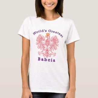 World's Greatest Babcia Eagle T-Shirt