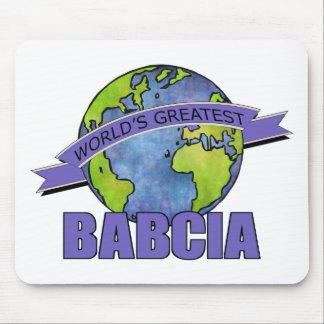 World's Greatest Babcia Mouse Pad