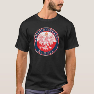 World's Greatest Babcia T-Shirt