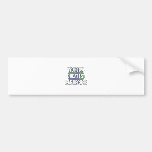 World's Greatest Babecuer Bumper Stickers