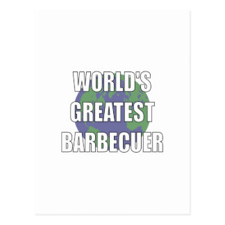 World's Greatest Babecuer Postcard