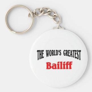 World's Greatest Bailiff Keychain