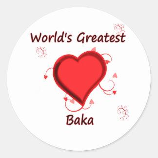 World's Greatest baka Sticker