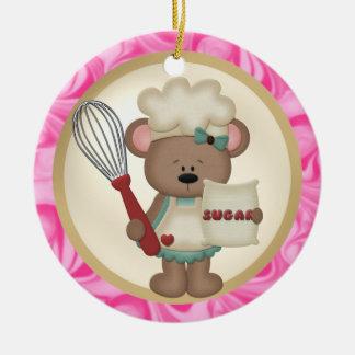 World's greatest baker ornament