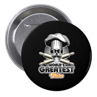 World's Greatest Baker v4 Pinback Button