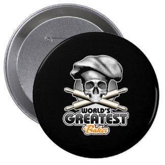 World's Greatest Baker v6 Pinback Button