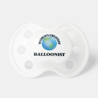 World's Greatest Balloonist BooginHead Pacifier