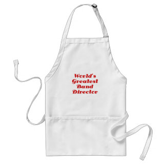 Worlds Greatest Band Director Adult Apron