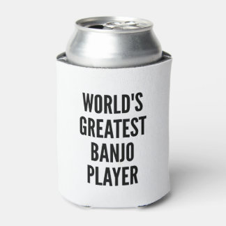 Worlds Greatest Banjo Player Can Cooler