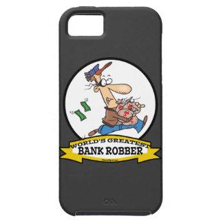 WORLDS GREATEST BANK ROBBER MEN CARTOON iPhone SE/5/5s CASE