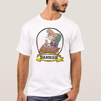 WORLDS GREATEST BANKER WOMEN CARTOON T-Shirt