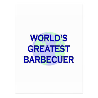 World's Greatest Barbecuer Postcard