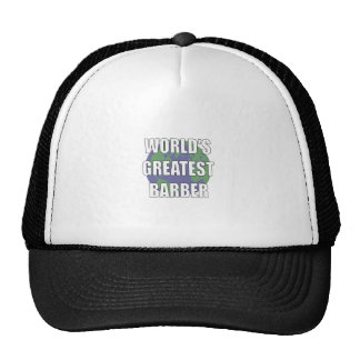 WOrld's Greatest Barber Trucker Hat