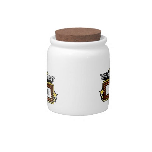 World's Greatest Barista Candy Jar