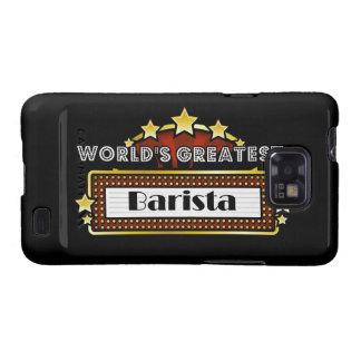 World's Greatest Barista Galaxy S2 Cover