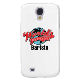 Worlds Greatest Barista Galaxy S4 Cases