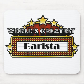 World's Greatest Barista Mouse Pad
