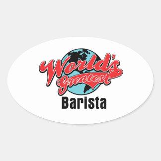 Worlds Greatest Barista Stickers