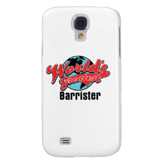Worlds Greatest Barrister Galaxy S4 Covers