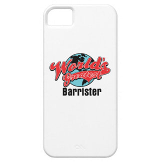 Worlds Greatest Barrister iPhone 5 Cover
