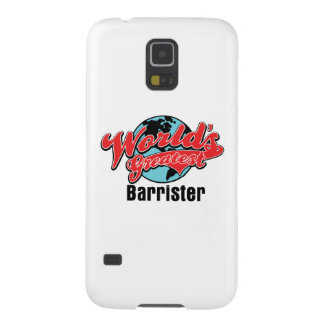 Worlds Greatest Barrister Galaxy S5 Cases