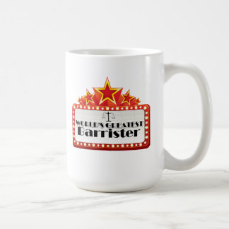 World's Greatest Barrister Coffee Mug
