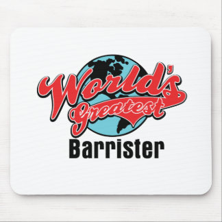 Worlds Greatest Barrister Mouse Pad