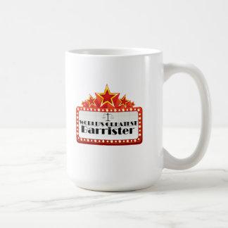 World's Greatest Barrister Mug