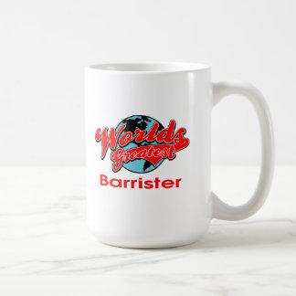 World's Greatest Barrister Coffee Mugs
