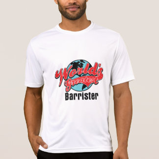 Worlds Greatest Barrister T-shirts