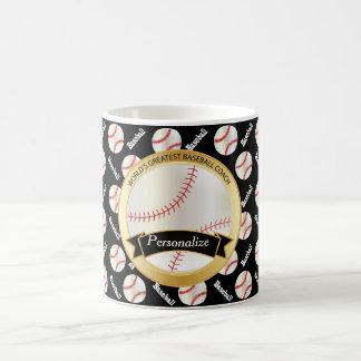 World's Greatest Baseball Coach Classic White Coffee Mug