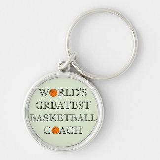 World's Greatest Basketball Coach Keychain