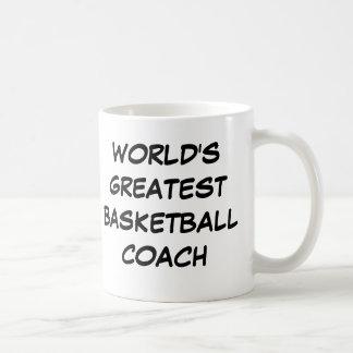 """""""World's Greatest Basketball Coach"""" Mug"""