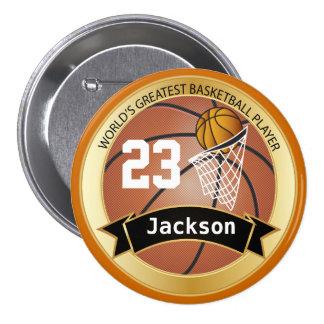 World's Greatest Basketball Player Pinback Button