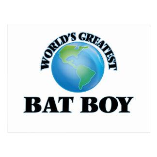 World's Greatest Bat Boy Postcard